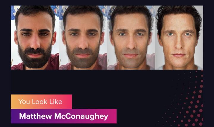 Imagen - Gradient, la popular app que te dice a qué famoso te pareces