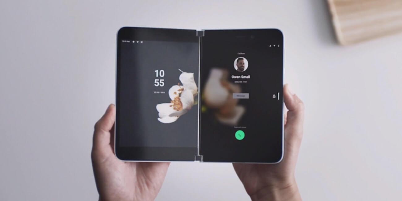 Surface Duo, un dispositivo con doble pantalla y Android