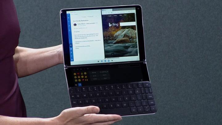 Imagen - Microsoft Surface Neo: dos pantallas, diseño plegable y teclado físico