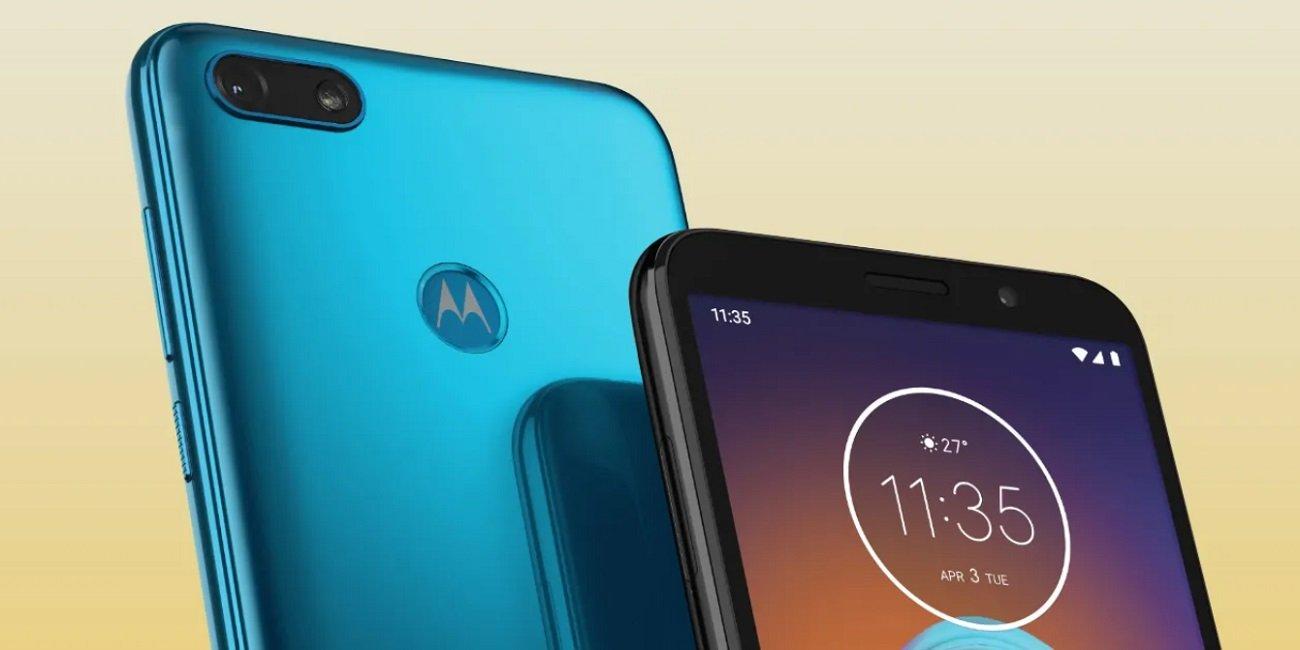 Moto E6 Play, pantalla ultrapanorámica y cámara dual para la gama de entrada