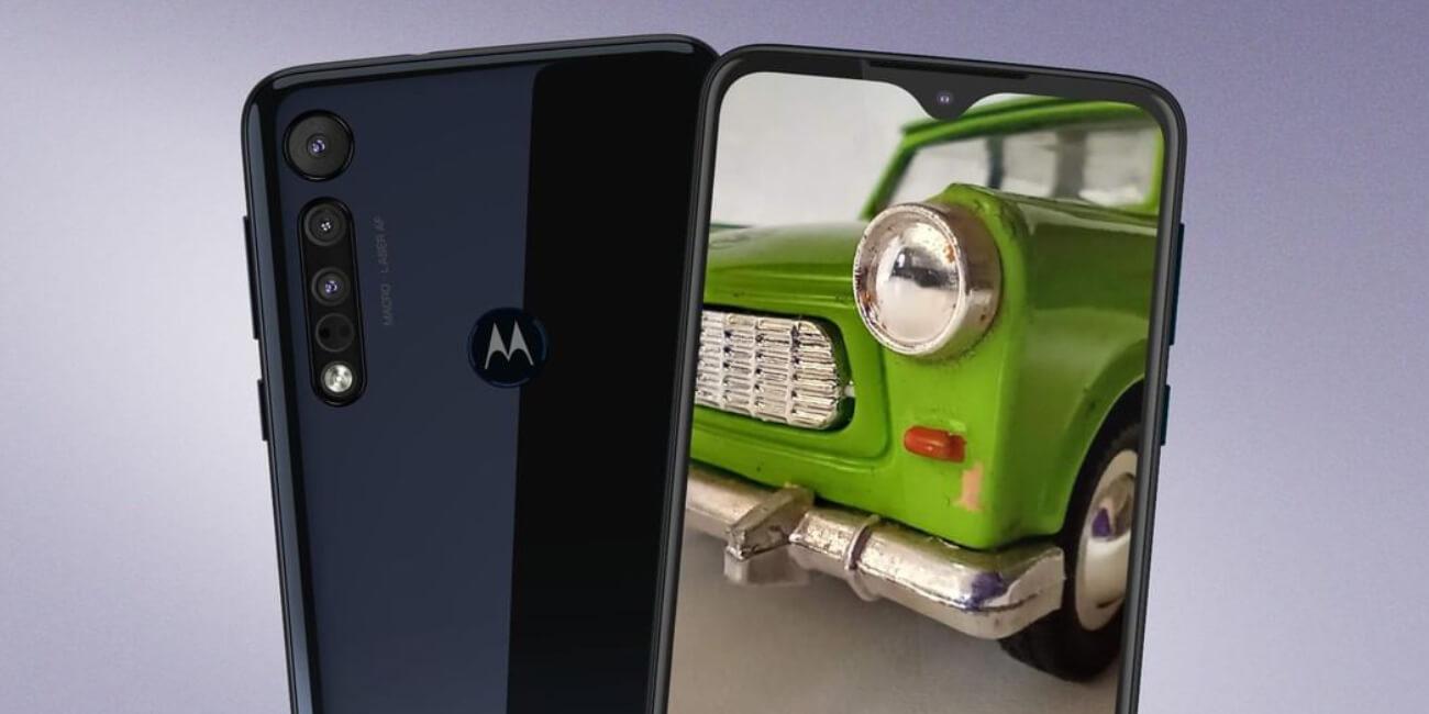 Motorola One Macro, triple cámara con modo macro para fotos a objetos muy cercanos