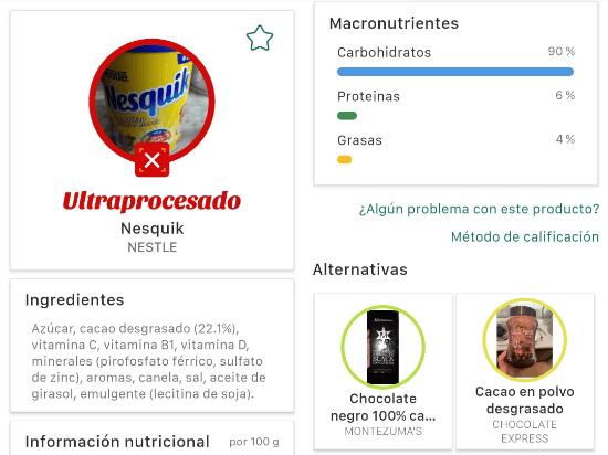 Imagen - Cómo usar la app de MyRealFood