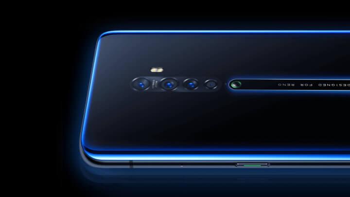 """Imagen - Oppo Reno 2: 4 cámaras, sensor de huellas en pantalla y diseño """"aleta de tiburón"""""""