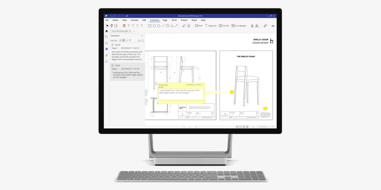 PDFelement: crea, edita, convierte y firma PDF con sencillez