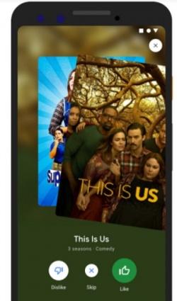 Imagen - Google ofrecerá recomendaciones de películas y programas de TV al estilo Tinder en móviles
