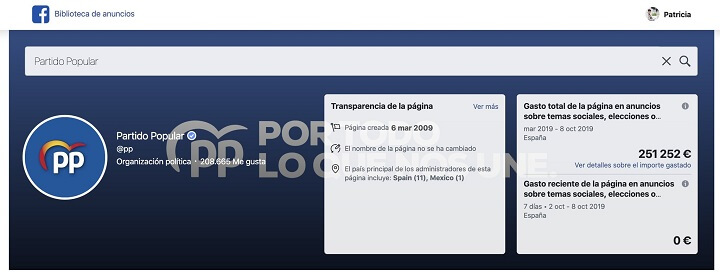 Imagen - ¿Cuánto han gastado los partidos políticos en publicidad en Facebook?