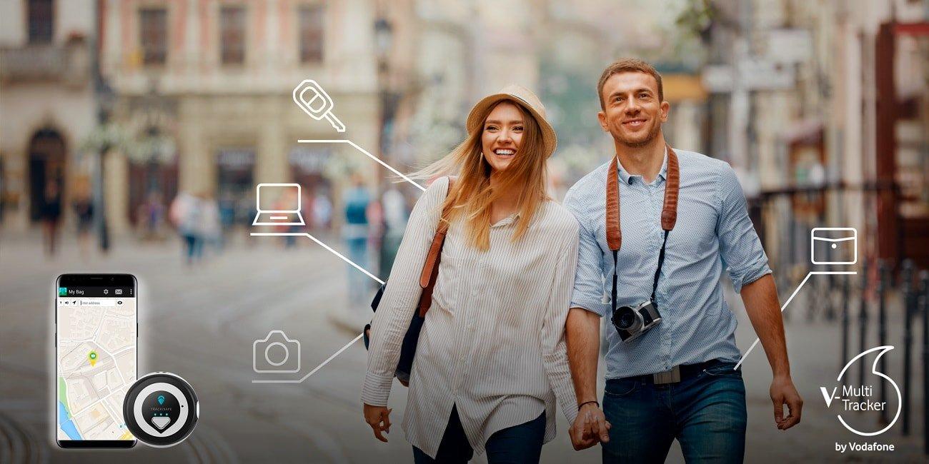 V-Multi Tracker, el nuevo localizador de Vodafone con V-SIM