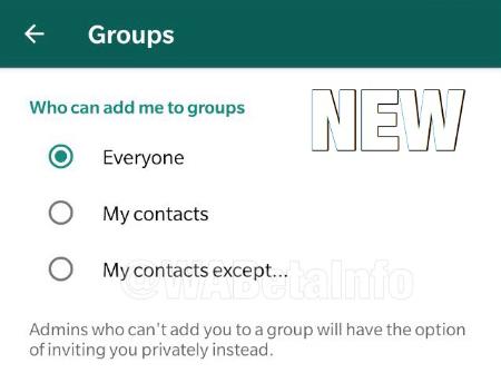 Imagen - WhatsApp permitirá configurar quién te puede añadir a un grupo