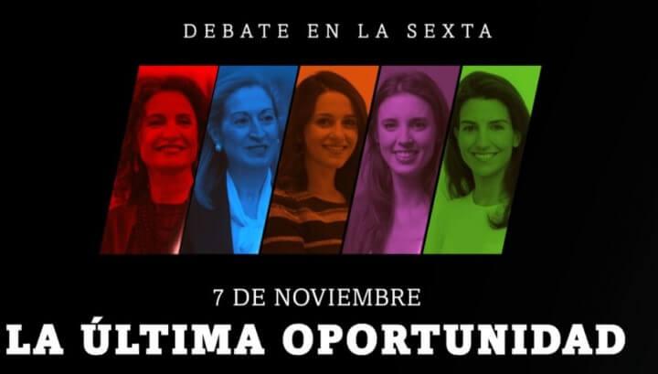 Imagen - Dónde seguir online el debate electoral femenino del 7-N