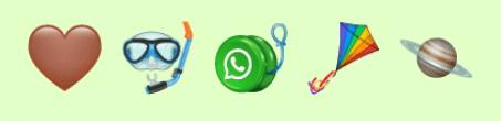 Imagen - WhatsApp añade 239 emojis con inclusivos y de animales