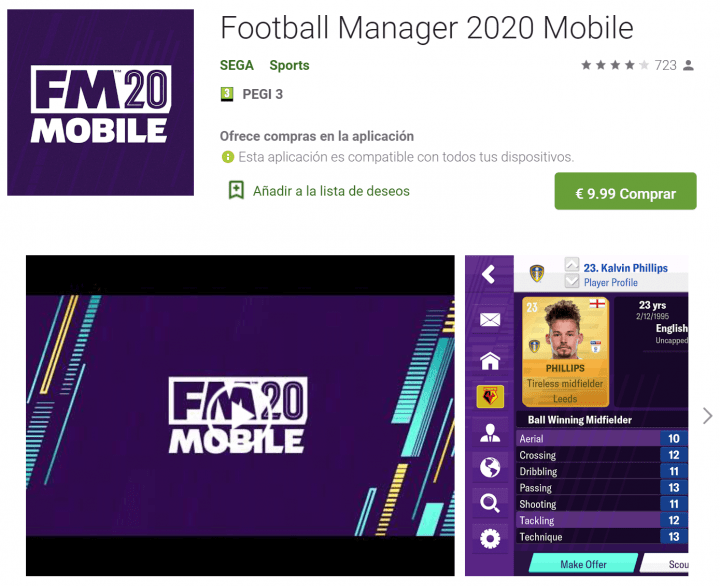 Imagen - Football Manager 2020 ya está disponible en PC, Mac, Android, iOS y Stadia
