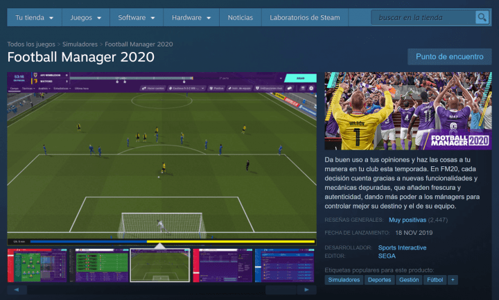 Imagen - Descarga Football Manager 2020 gratis en PC