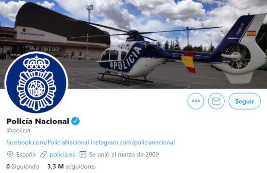 """Imagen - Entrevista a Laura Garaboa (Policía Nacional): """"Hemos sido pioneros en redes sociales"""""""