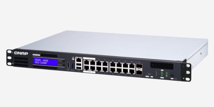 Imagen - QNAP QGD-1600P: almacena datos y ejecuta máquinas virtuales en un switch PoE