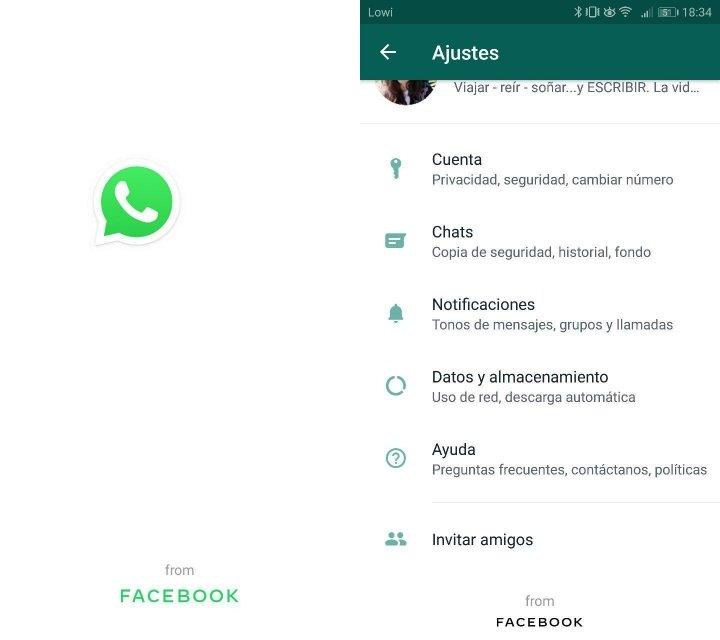 """Imagen - """"WhatsApp from Facebook"""", la app cambia su nombre oficial"""