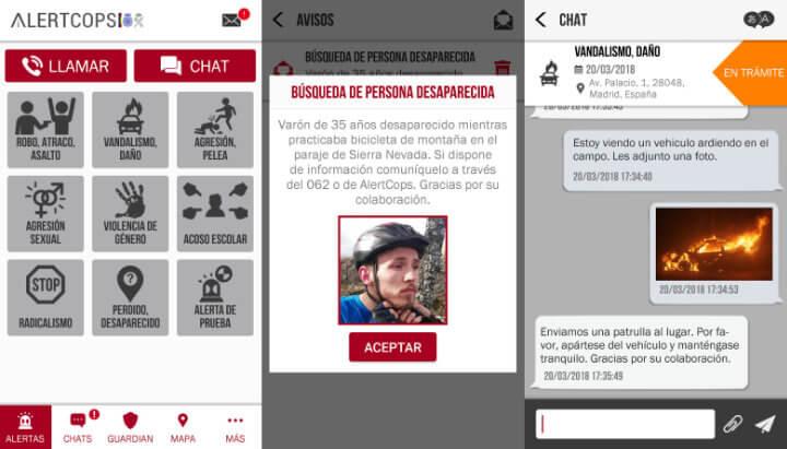 Imagen - AlertCops: la app de seguridad ciudadana ya funciona en 8 comunidades