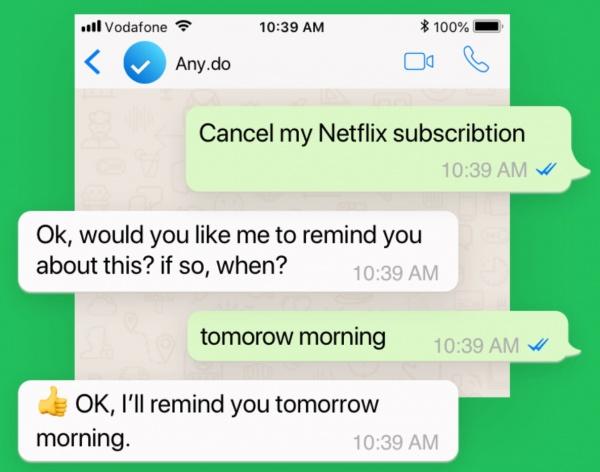 Imagen - WhatsApp te podrá enviar recordatorios de tus tareas