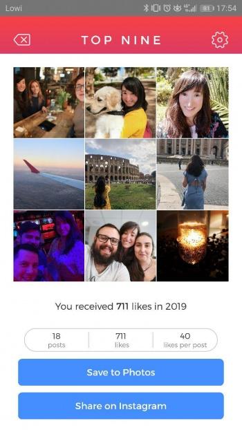 """Imagen - Cómo crear tu """"Bestnine2019"""" en Instagram con las fotos con más likes"""