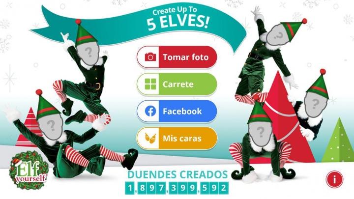 Imagen - Cómo crear un vídeo navideño bailando como un elfo con ElfYourself