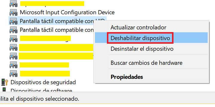 Imagen - Cómo desactivar la pantalla táctil en Windows 10