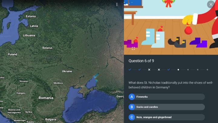 """Imagen - """"Santa Tracker"""", Google celebra la Navidad con juegos y guiños en sus servicios"""