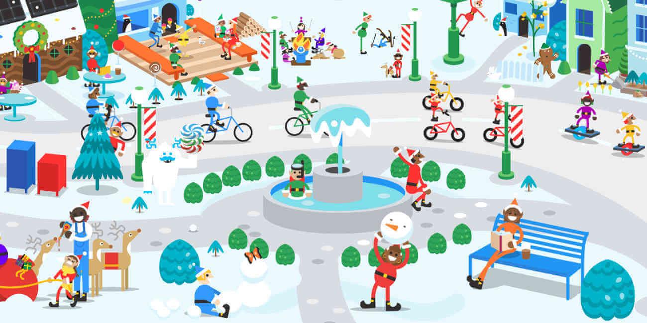 """""""Santa Tracker"""", Google celebra la Navidad con juegos y guiños en sus servicios"""