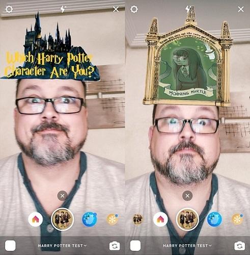 """Imagen - Cómo poner el filtro de """"Harry Potter test"""" en Instagram"""
