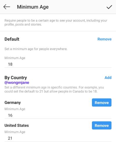 Imagen - Instagram permitirá establecer un mínimo de edad para entrar a los perfiles