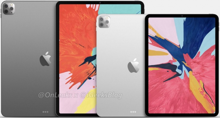Imagen - Filtrados los iPad Pro de 2020: ahora con triple cámara trasera