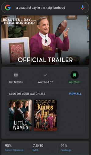 Imagen - El buscador de Google apuntará las series y películas que quieras ver
