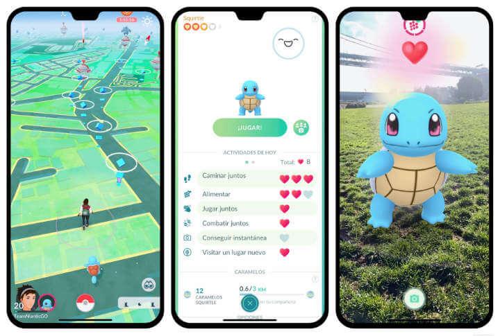 Imagen - Pokémon Go Buddy Adventure: ahora tu pokémon compañero se verá en realidad aumentada