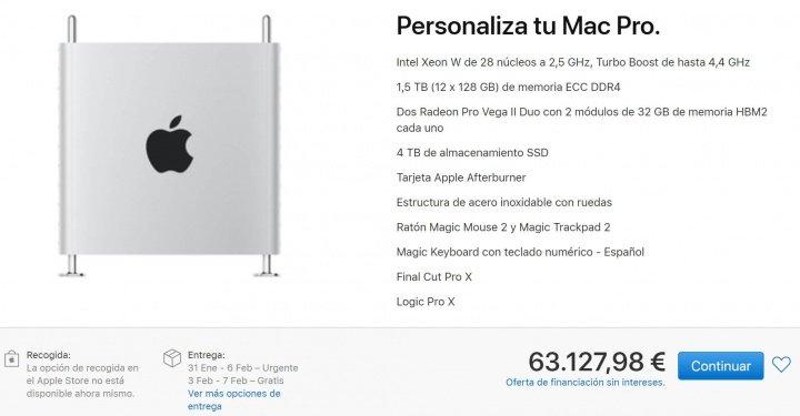 Imagen - Mac Pro 2019 cuenta con una versión por más de 60.000 euros