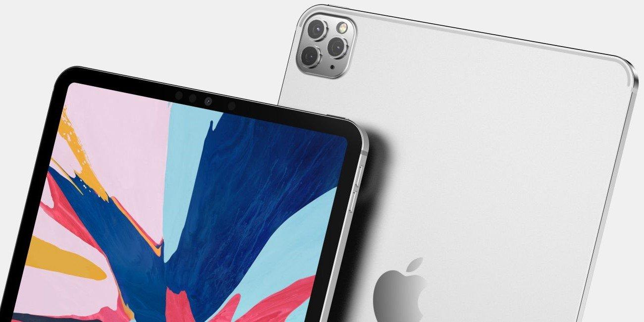 Filtrados los iPad Pro de 2020: ahora con triple cámara trasera