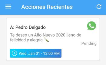 Imagen - Cómo programar los mensajes de Año Nuevo en WhatsApp