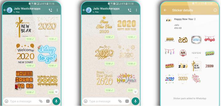 Imagen - 10 packs de stickers de Año Nuevo para WhatsApp