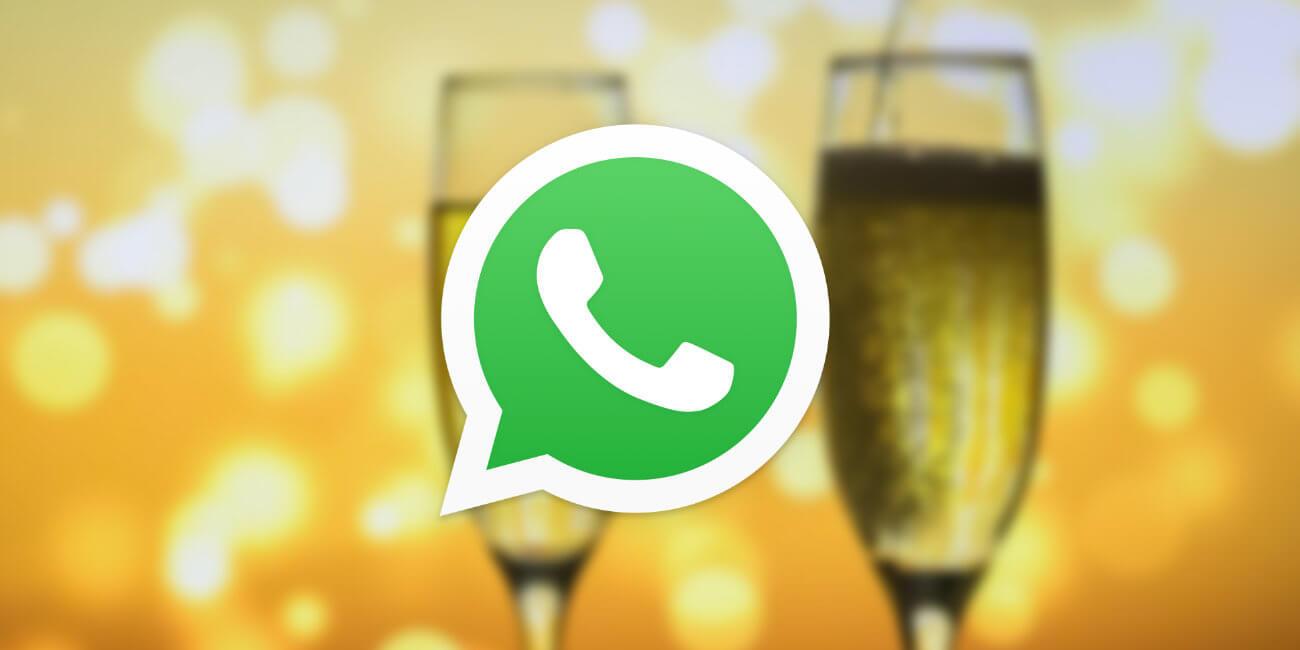 Cómo programar los mensajes de Año Nuevo en WhatsApp