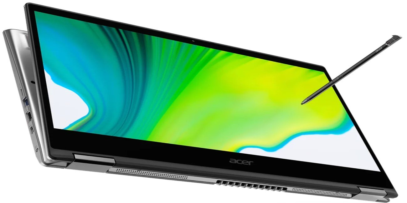 Acer Spin 3 y Spin 5 añaden USB-C, WiFi 6 y pantalla hasta 2K