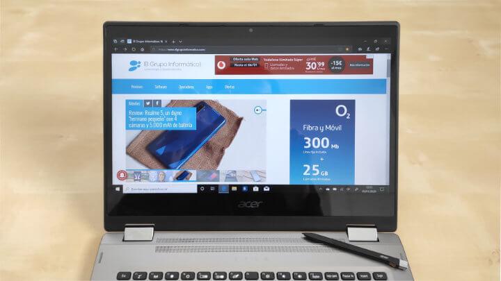 Imagen - Review: Acer Spin 3 (2019), un portátil convertible ligero, versátil y con stylus incluido