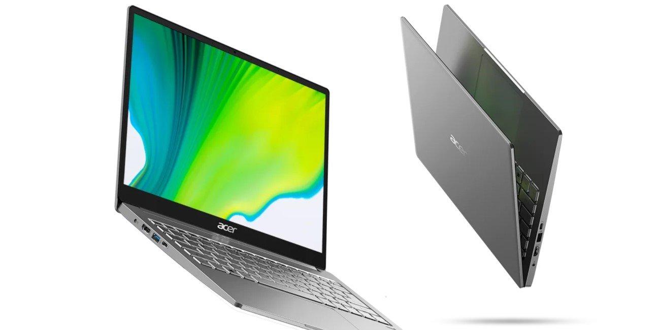 """Acer Swift 3 de 13"""" y 14"""": chasis metalizado, carga rápida y WiFi 6 por menos de 700 euros"""