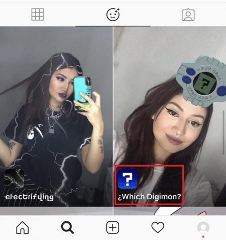 Imagen - ¿Qué Digimon eres? Así se activa el filtro en Instagram