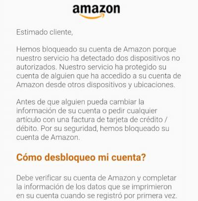 """Imagen - Amazon Prime: """"Su cuenta ha sido cambiada en Polandia"""""""