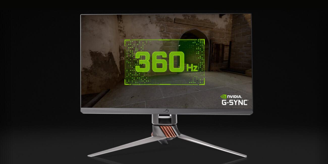 Asus ROG Swift 360: el monitor gaming a 360 Hz para ser más rápido en los eSports