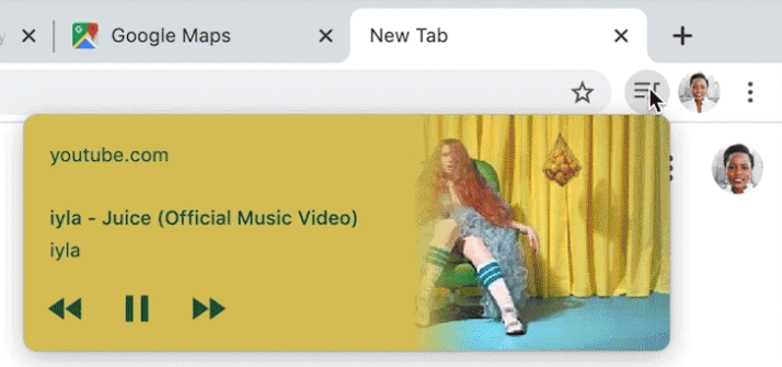 Imagen - Chrome añade un control multimedia: más orden para las pestañas con vídeo y sonido