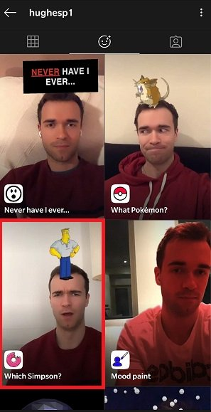 """Imagen - """"¿Qué Simpson eres?"""", así se activa el filtro en Instagram"""
