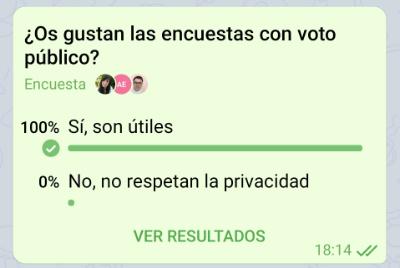 Imagen - Telegram crea encuestas públicas, de voto múltiple y trivial