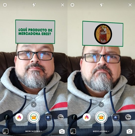 """Imagen - """"¿Qué producto de Mercadona eres?"""" Así se activa el filtro de Instagram"""