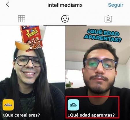"""Imagen - """"¿Qué edad aparentas?"""", cómo usar el filtro en Instagram Stories"""