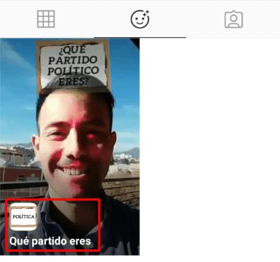 """Imagen - Cómo usar el filtro """"¿Qué partido político eres?"""" en Instagram"""