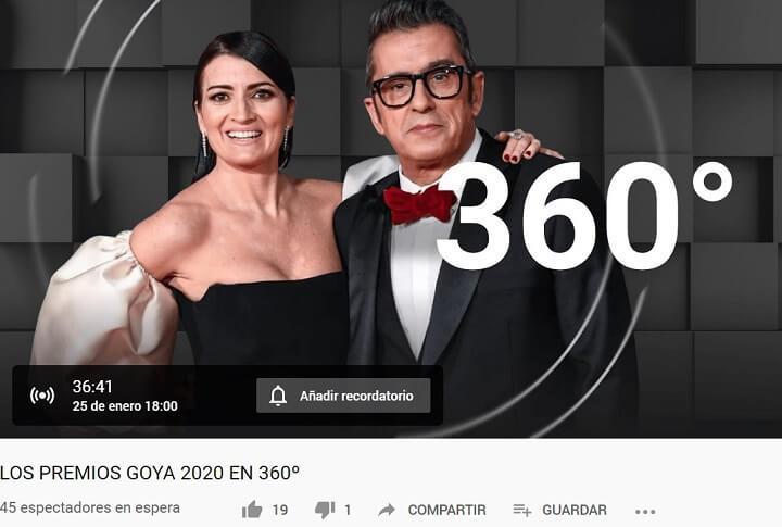 Imagen - Cómo ver los Goya 2020 online