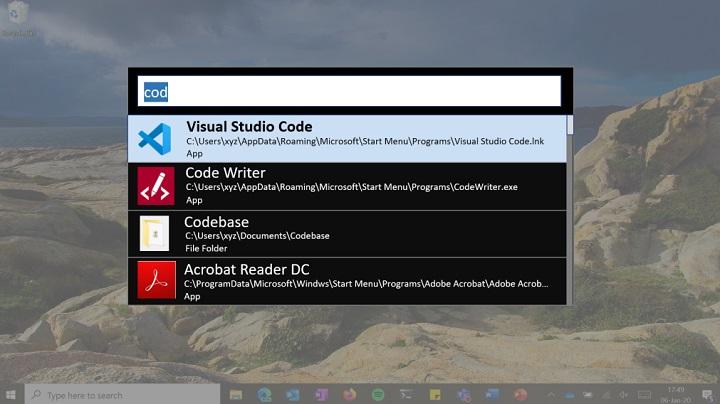 Imagen - PowerLauncher, el mejorado buscador para Windows 10 que prepara Microsoft